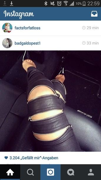pants black jeans black leggings