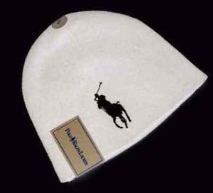 Ralph Lauren Polo Merino Wool Hat White | eBay