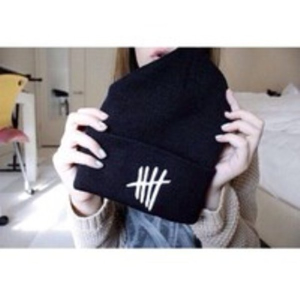 hat beanie 5 seconds of summer 5 seconds of summer tally