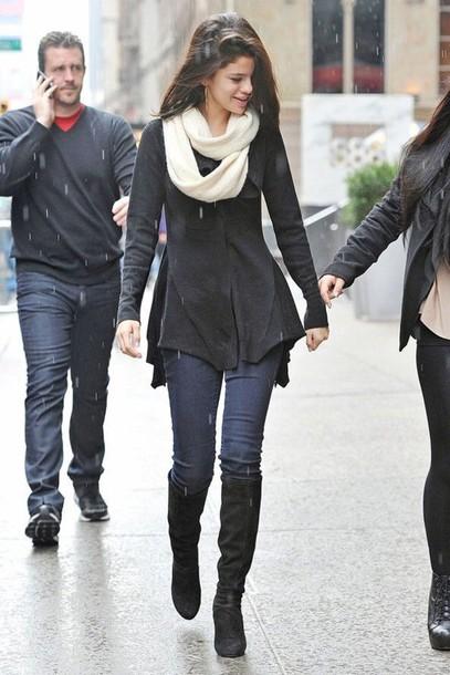 sweater selena gomez sweater selena gomez black jacket