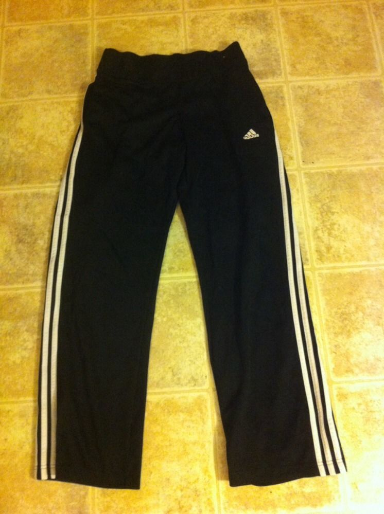 Women's Adidas Size Medium Workout Pants Relaxed Leg Style | eBay