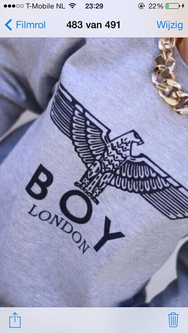 sweater boy boy london london boy hoodie