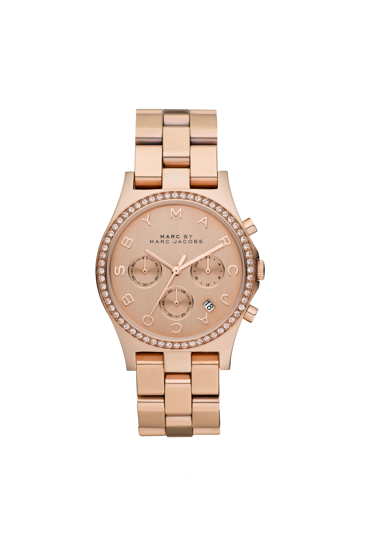 Henry Chrono w/ Glitz 40MM - Watches - Shop marcjacobs.com - Marc Jacobs