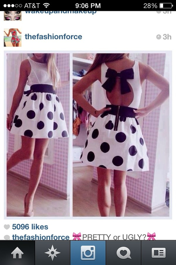 dress polka dot skirt polka dot dress bow t shirt