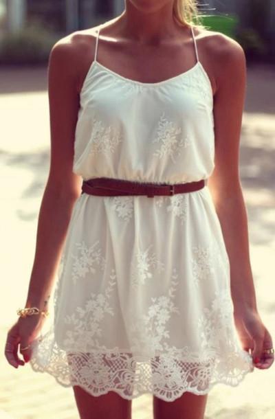 dress white dress lace dress white lace dress