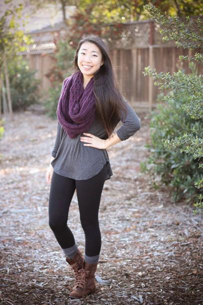 joyful outfits blogger combat boots