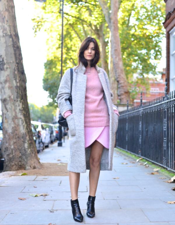 northern light skirt sweater coat shoes bag jewels