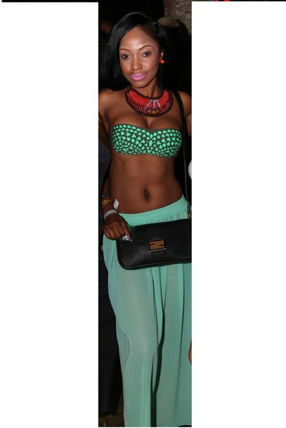 top aztec turquoise and grey bandeau swimsuit bandeau turquoise bandeau bra
