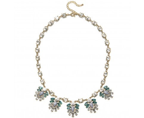 Crystal Ava Necklace - Necklaces