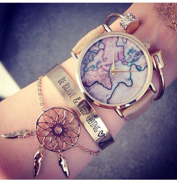 jewels jewelry gold bracelets stacked bracelets gold bracelet gold jewelry dreamcatcher