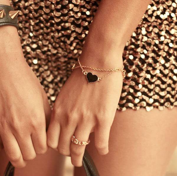 Fancy - Deck Heart Bracelet