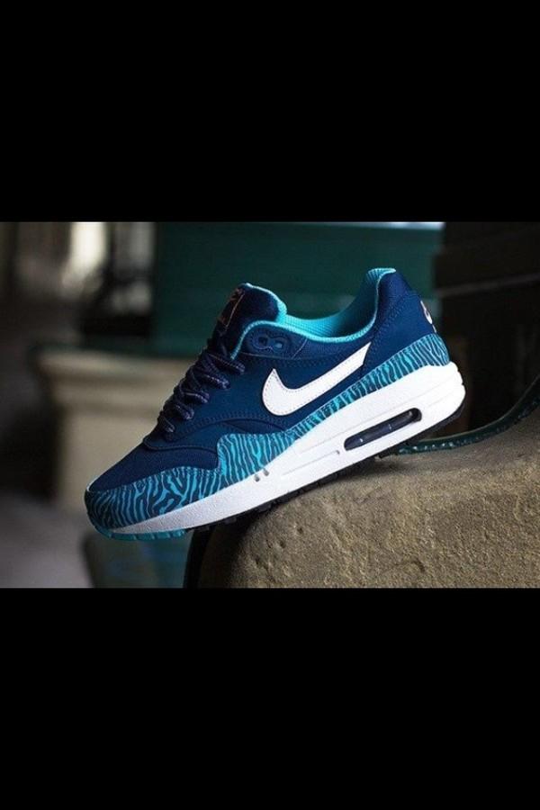 shoes air max nike air max zebra blue blue shoes nike air nike running shoes