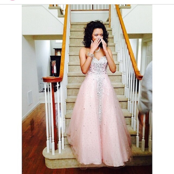 dress gown gown prom dress prom gown beautiful pink dress sparkly dress cute help find it pink strapless dress sweetheart dress sweetheart neckline