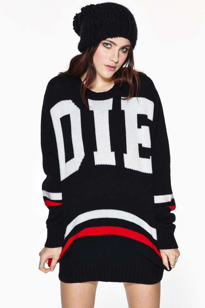 UNIF Die Poser Sweater in  What's New at Nasty Gal