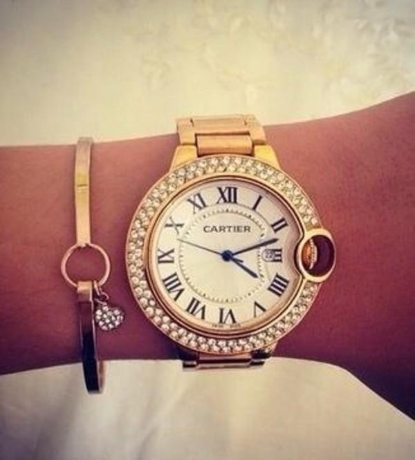 jewels watch cartier
