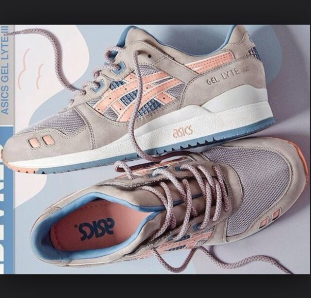 shoes asics asics gel lyte iii sneakers low top sneakers