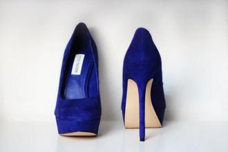 shoes heels high heels bluu heels high amzing cut e women young teenagers style