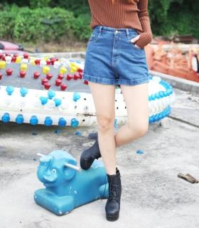 Denim shorts - Vintage - Shorts - Pants & Shorts - Women - Modekungen - Fashion Online | Clothing, Shoes & Accessories