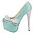 HERSTAR™ Tiffany Blue Bow Crystal Pumps (tiffany co diamond shoes, tiffany high heel shoes, tiffany rhinestone crystal shoes) | Novelty Heels | HERSTAR