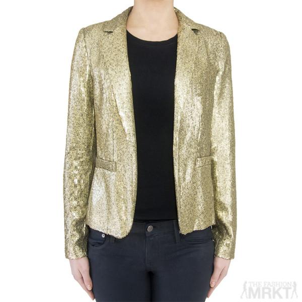 jacket blazer sequin jacket gold sequin blazer michael michael kors blazer sequins michael by michael kors celebrity style steal online fashion store online store mens blazer online boutique online fashion boutique shopping women's fashion boutique