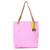 Michael Kors Jet Set Logo Large Pink Tote Bags