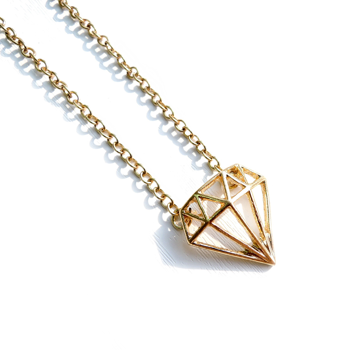 Shine Bright Like A Diamond Necklace on Luulla