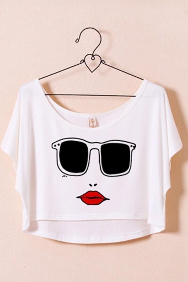 shirt t-shirt persunmall short t-shirt