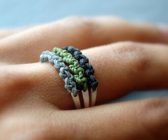 jewels ring rope
