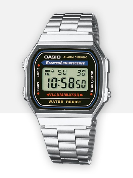 CASIO Collection A168WA-1YES | CASIO Onlineshop Italia