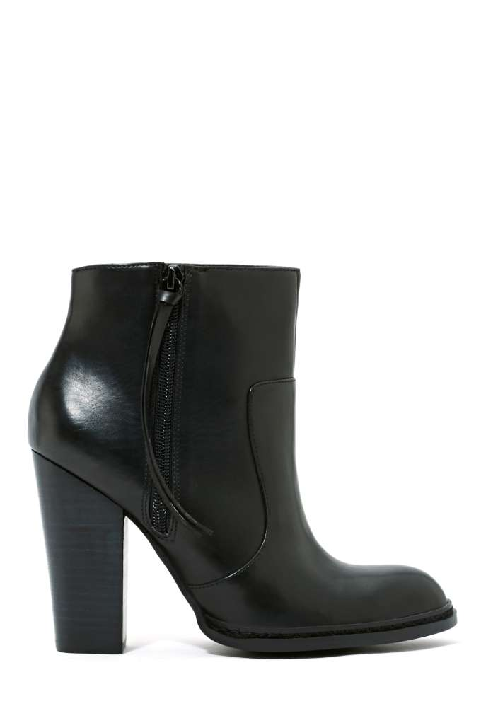 Shoe Cult Equine Bootie - Black in  Shoes Booties at Nasty Gal