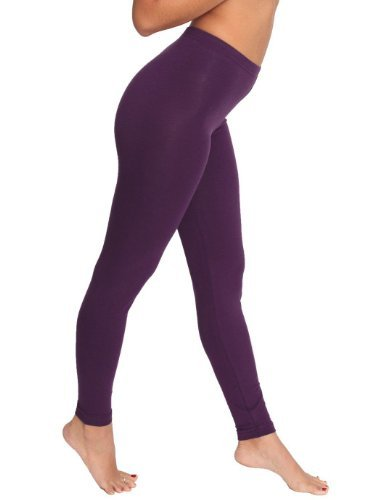 American Apparel Women's Cotton Spandex Jersey Leggings : Women