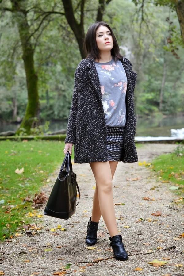 si las calles hablasen coat bag skirt sweater jewels