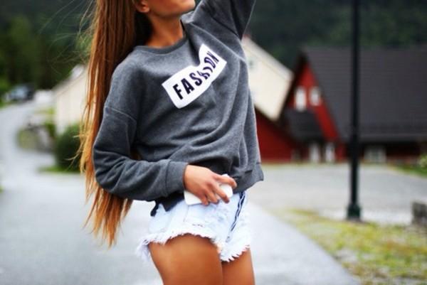 sweater www.rebellefleur.nl rebellefleur webshop fashion order yours shorts