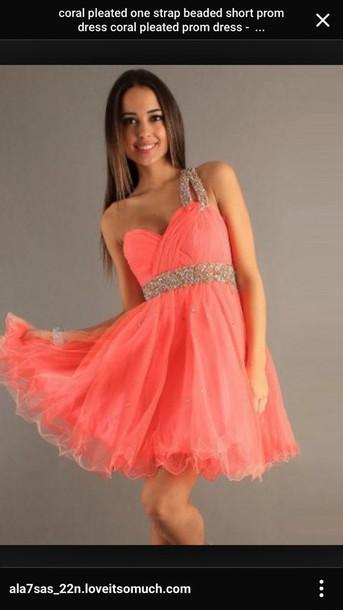 dress staps peach dress formal dress