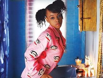 pajamas left eye lisa lisa lopes pink