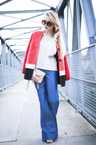 cablook coat jeans shoes bag t-shirt sunglasses jewels