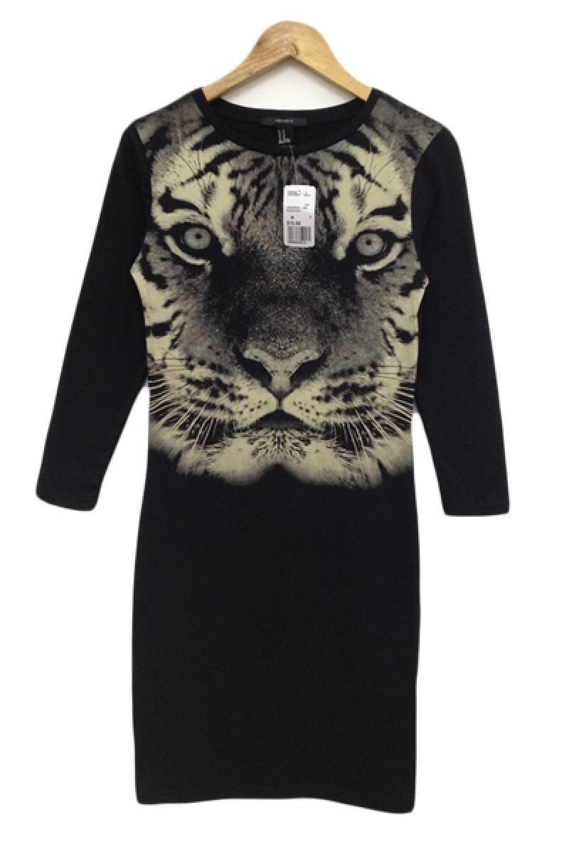 Sexy Tiger Head Pattern Dress,Cheap in Wendybox.com