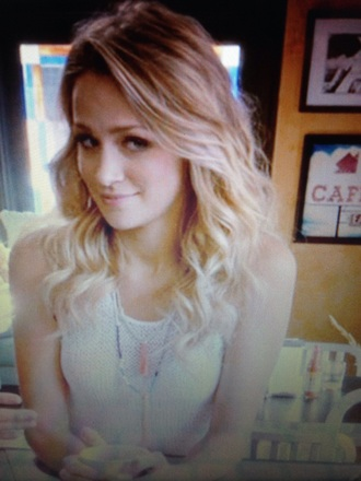 blouse one tree hill quinn james shirt necklace