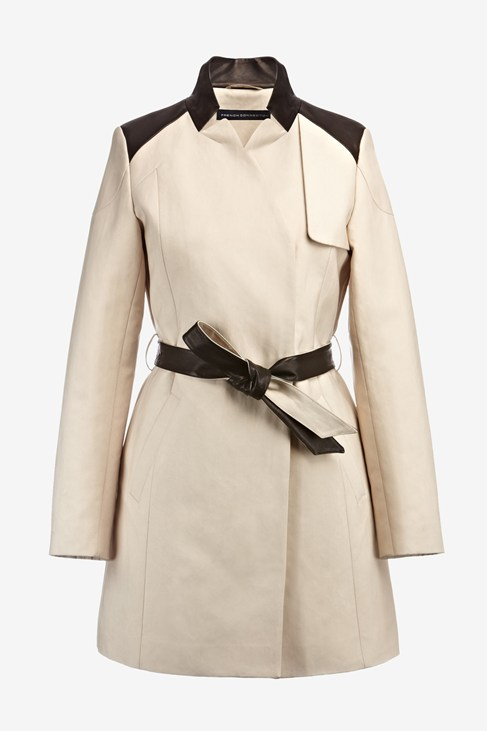 Inverted Collar Trench - Coats & Jackets - French Connection Usa