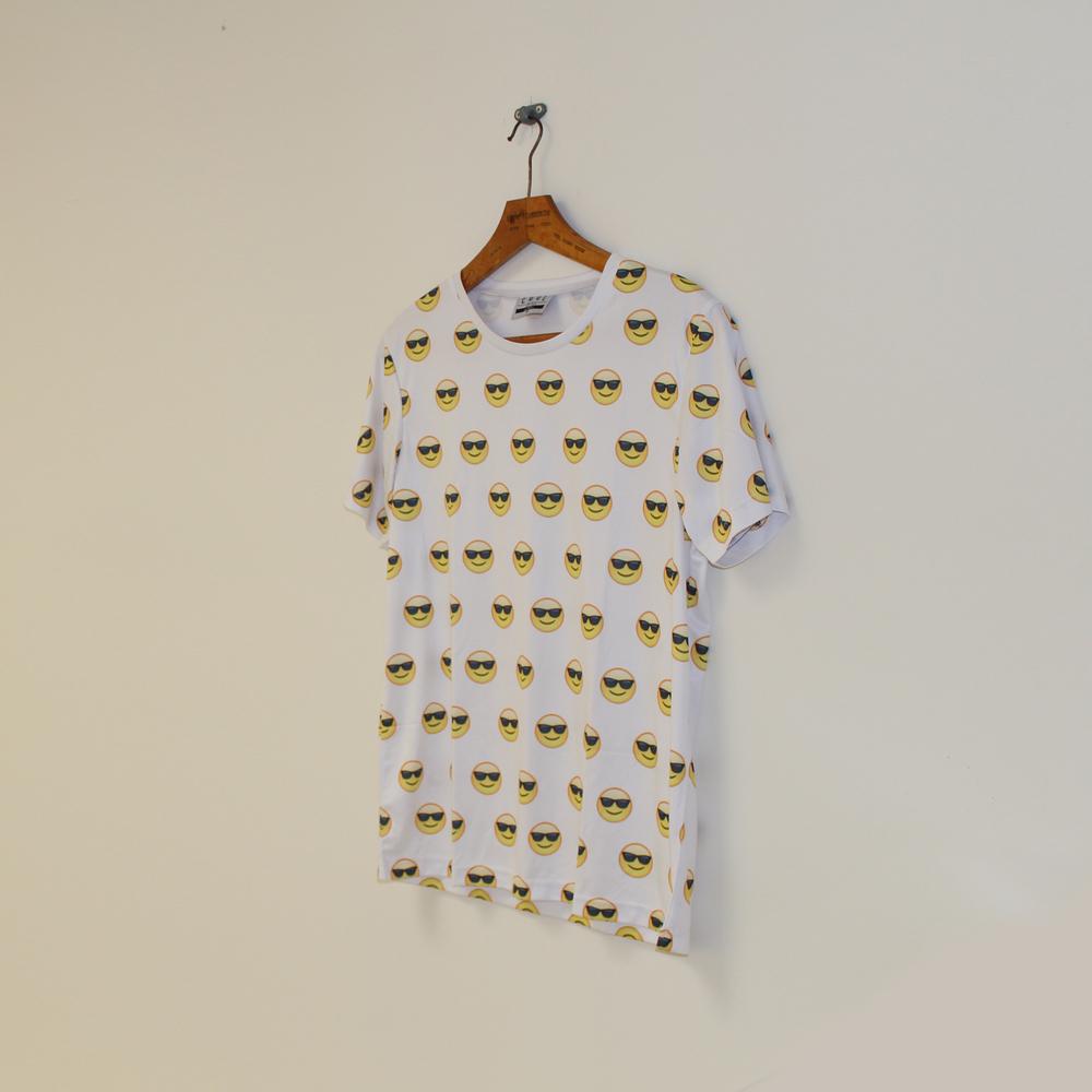 Sunglasses Emoji Tee  / Cool Shirtz