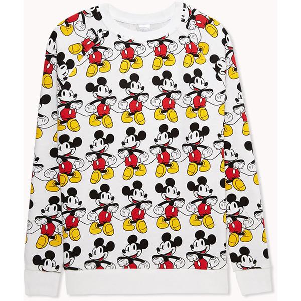FOREVER 21 Mickey Mouse© Raglan Sweatshirt - Polyvore