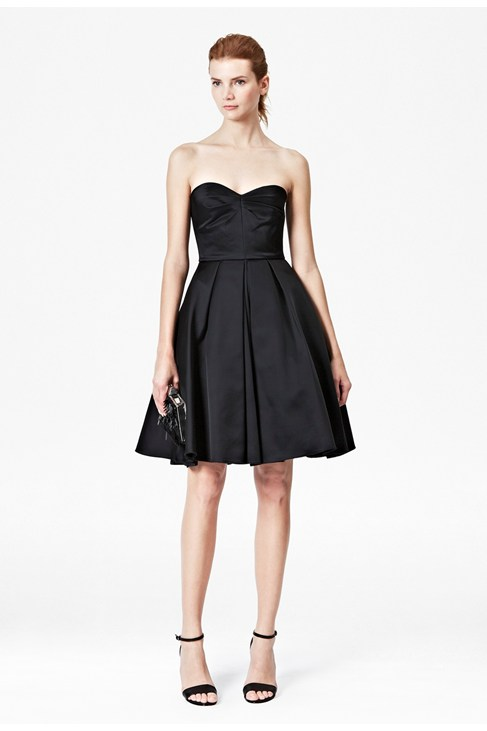 Duchess Divine Strapless Dress - New Arrivals - French Connection Usa