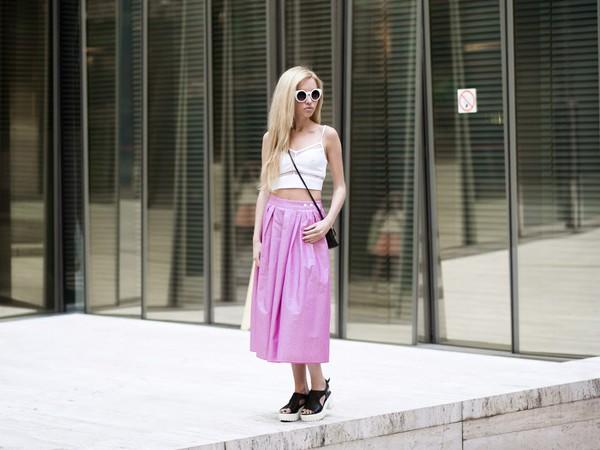 daryaya shoes skirt top