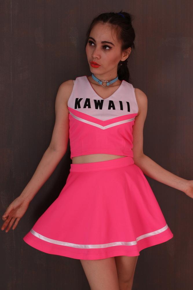Glitters For Dinner — Made To Order - Team Kawaii Cheerleading Set