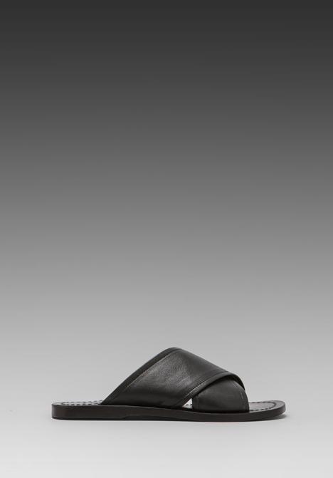 ELLIOTT LABEL Slide Sandal in Black at Revolve Clothing - Free Shipping!