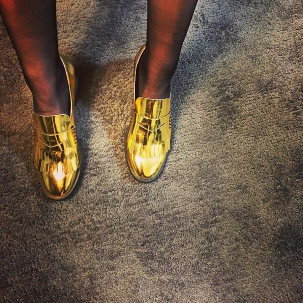 shoes firstaidkitband gold shoes instagram