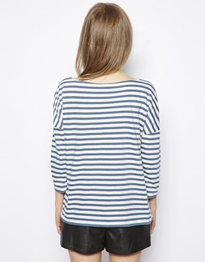 NW3 | NW3 Songlines T-Shirt in Breton Stripe at ASOS