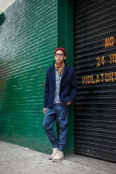 closet freaks blogger mens jeans mens blazer jacket pants shoes hat
