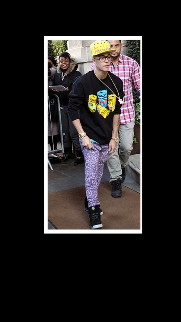 pants drop crotch justin bieber clothes sweater