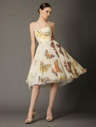 dress butterfly tulle dress summer dress